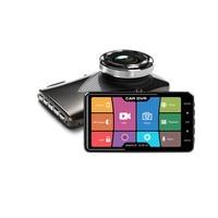 Car DVR Camera 4inch IPS screen Full HD 1080P 140 Degree Dashcam Video Registrars Night Vision G Sensor Dash Cam DVRs