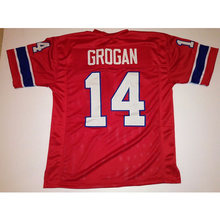 f4c563d9f74 Mens Retro Steve Grogan Stitched Name Number Throwback Football Jerseys  UNSIGNED  NO LOGOS OR EMBLEMS