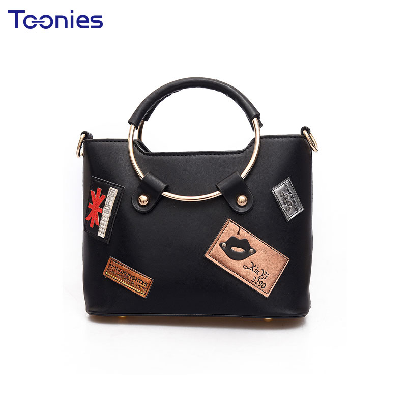 Lady's Bag New Fashion Bolsa Feminina Small Women Leather Tote Bags Handbags Wom