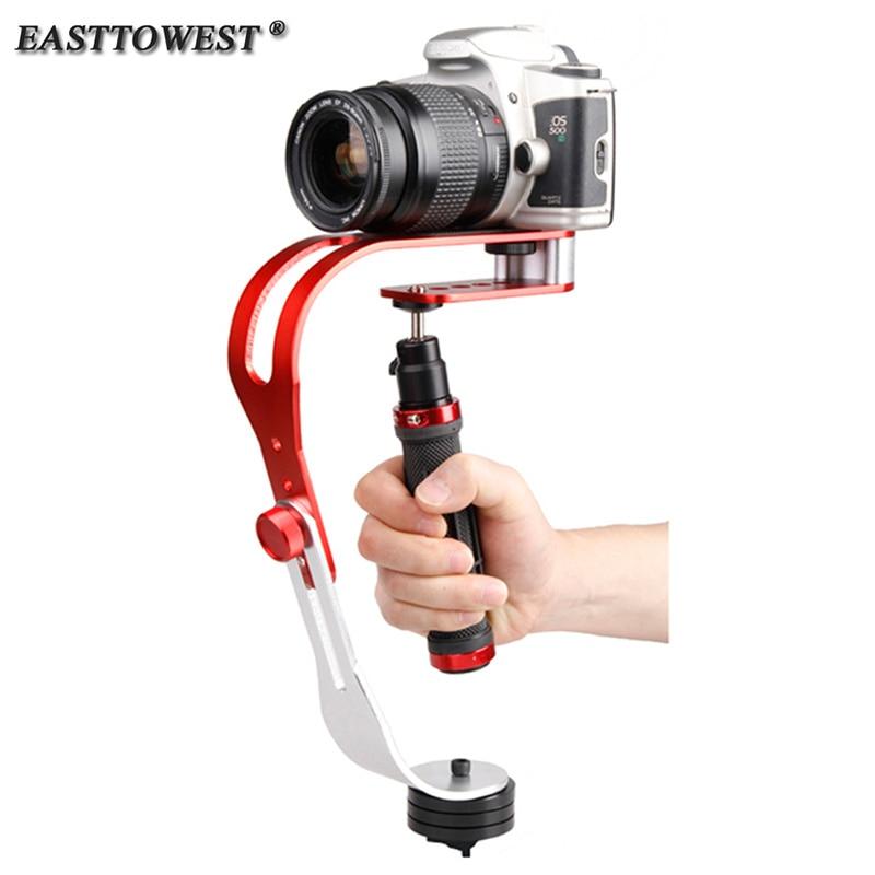 Easttowest Go Pro Accessoires En Aluminium De Poche Steadicam Steadycam Caméra Stabilisateur Pour Iphone Mobile DSLR Pour Go Pro Hero 5