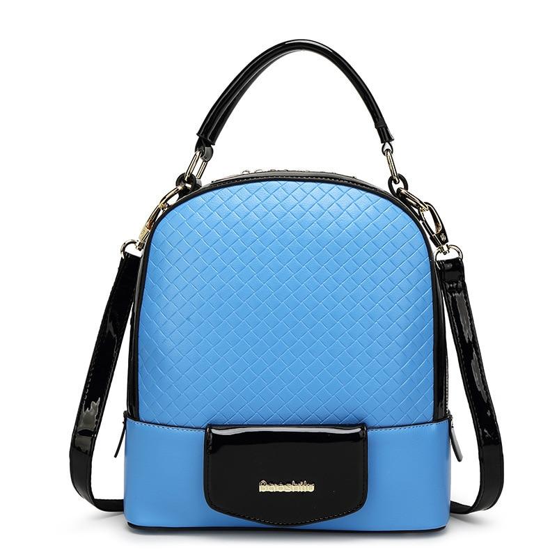 ФОТО Multifunction Women Backpack Fashion Youth Korean Style Shoulder Mini Bag Schoolbags For Teenager Girls Boys
