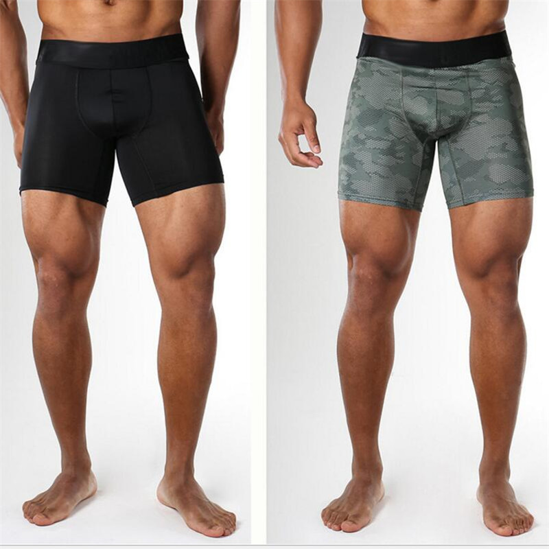 2017 new gyms play high shorts tight shorts base moisture absorption perspiration