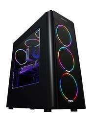 KOTIN S10 Desktop PC Gaming Computer Intel I5 8500 GTX 1060 5GB/6GB Video Card 360GB SSD 8GB/16GB RAM 6 Colorful Fans 500W PSU