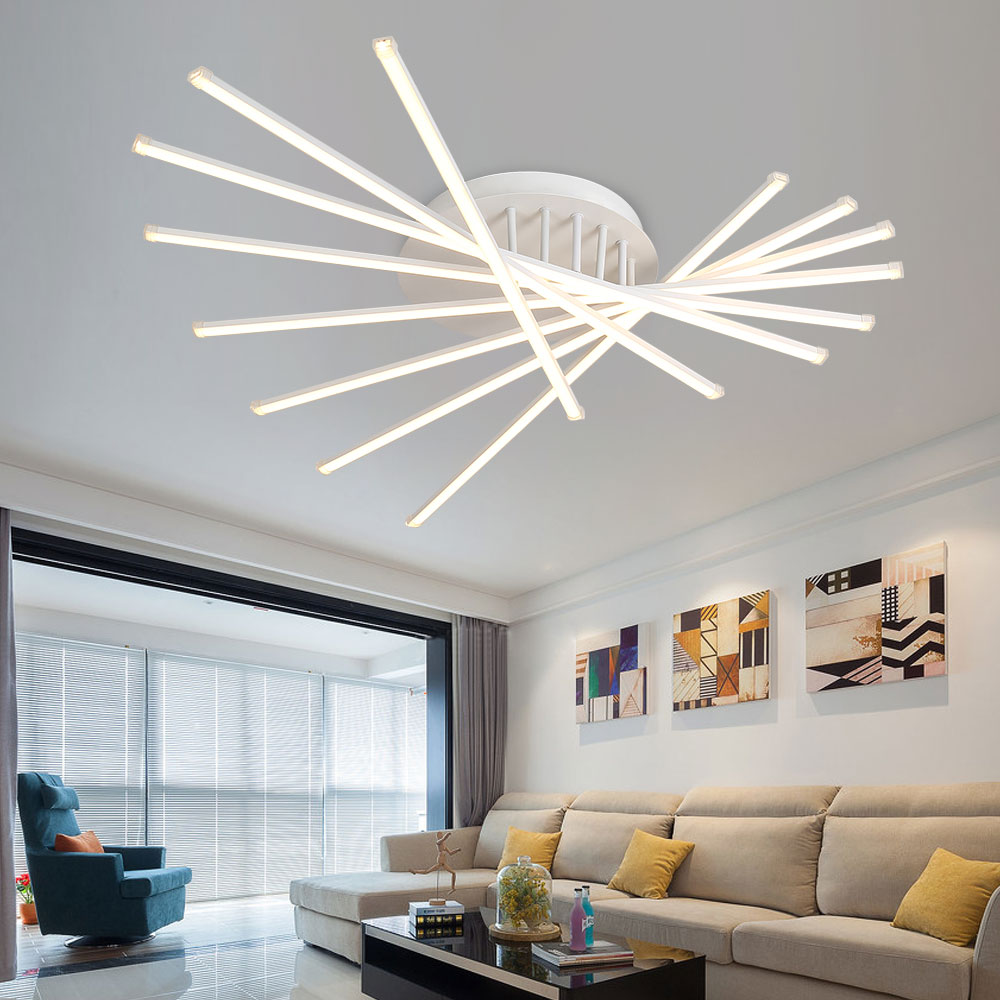 Aliexpress.com : Buy Led Lustre Ceiling Lights Modern Plafonnier ...