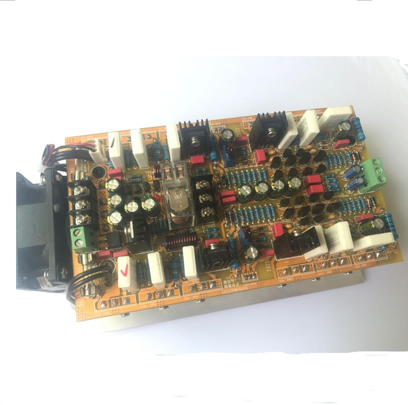 2018 Amplifiers hifi 2 .0 A class stereo amplifier audio dual channel high amplificador 600W*2 high power amplifier board