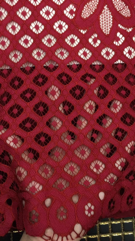 D'été Style Mode De Femmes Sexy Bandage Designer Rouge 2018 Robe Dentelle Robes Celebrity 14aqp6