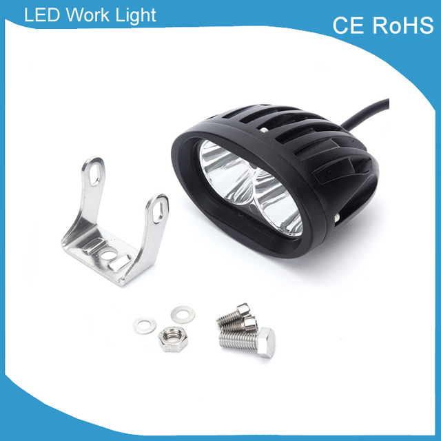 Alibaba aliexpress 20w led spot forklift truck red yellow blue warning lamp safety working light 10 48v mozeypictures Gallery