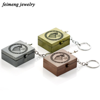 Game Of Thrones And Horcrux DIY Music Box Keychain Women Hand Crank Movements Set 18 Tones
