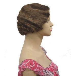 Image 3 - StrongBeauty 1920s Flapper Hairstyles for Women Finger Wave Wigs Retro Style Short Synthetic Wig