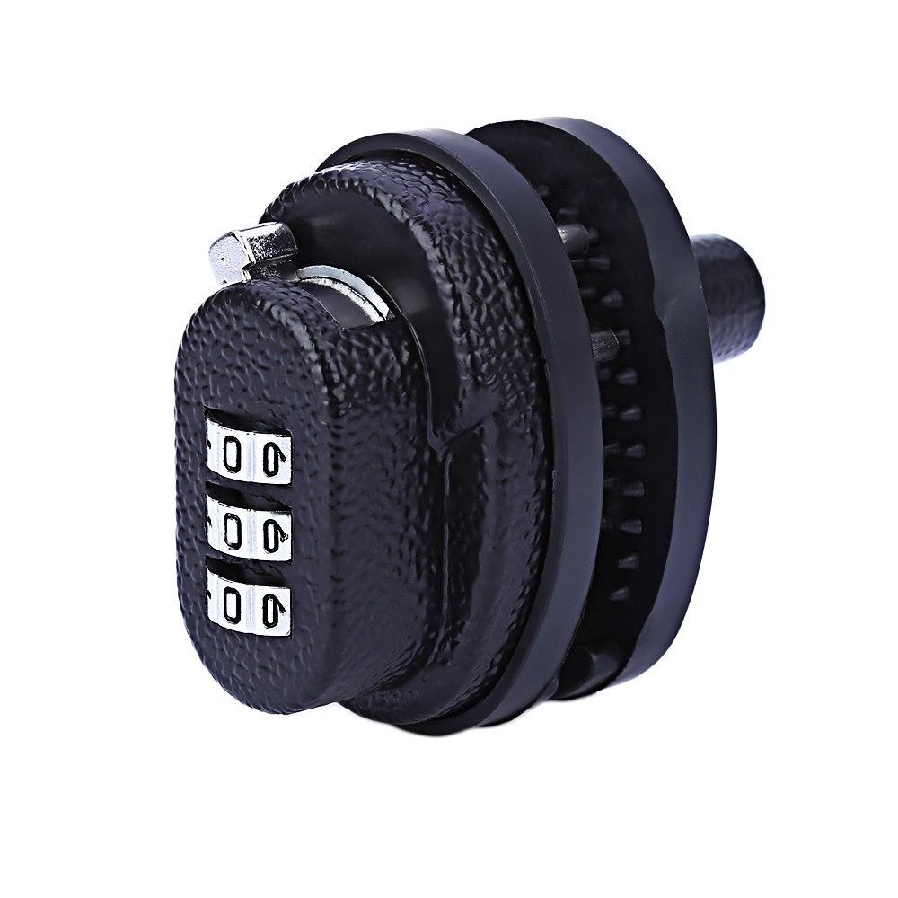 Nuevo 3-Dial de aleación de Zinc disparador contraseña cerradura de llave para armas de fuego pistola accesorios de aire