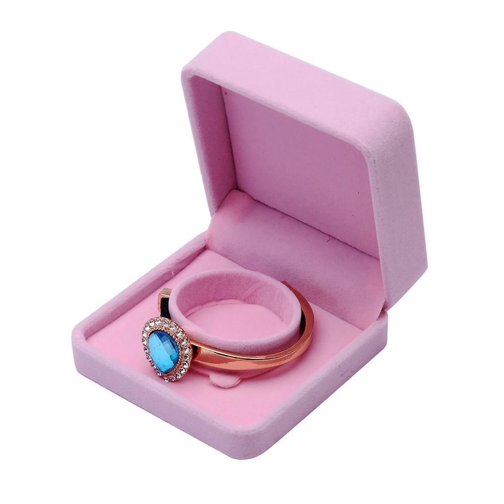 Aliexpress.com : Buy New Velvet Presentation Gift Jewellery Ring ...