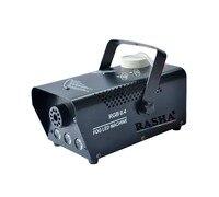 Rasha 3pcs 3W RGB 900W LED Fog Machine LED Smoke Machine With Remote Control DMX LED