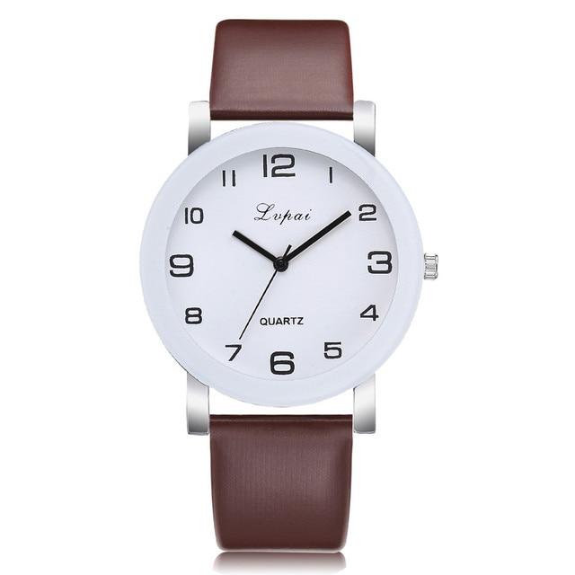 Brown Quartz Watch