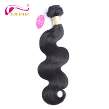 Unprocessed Brazilian Virgin Hair Body Wave Human Hair Bundles Weaves 1 piece Natural Color 8-30″ Free Shipping
