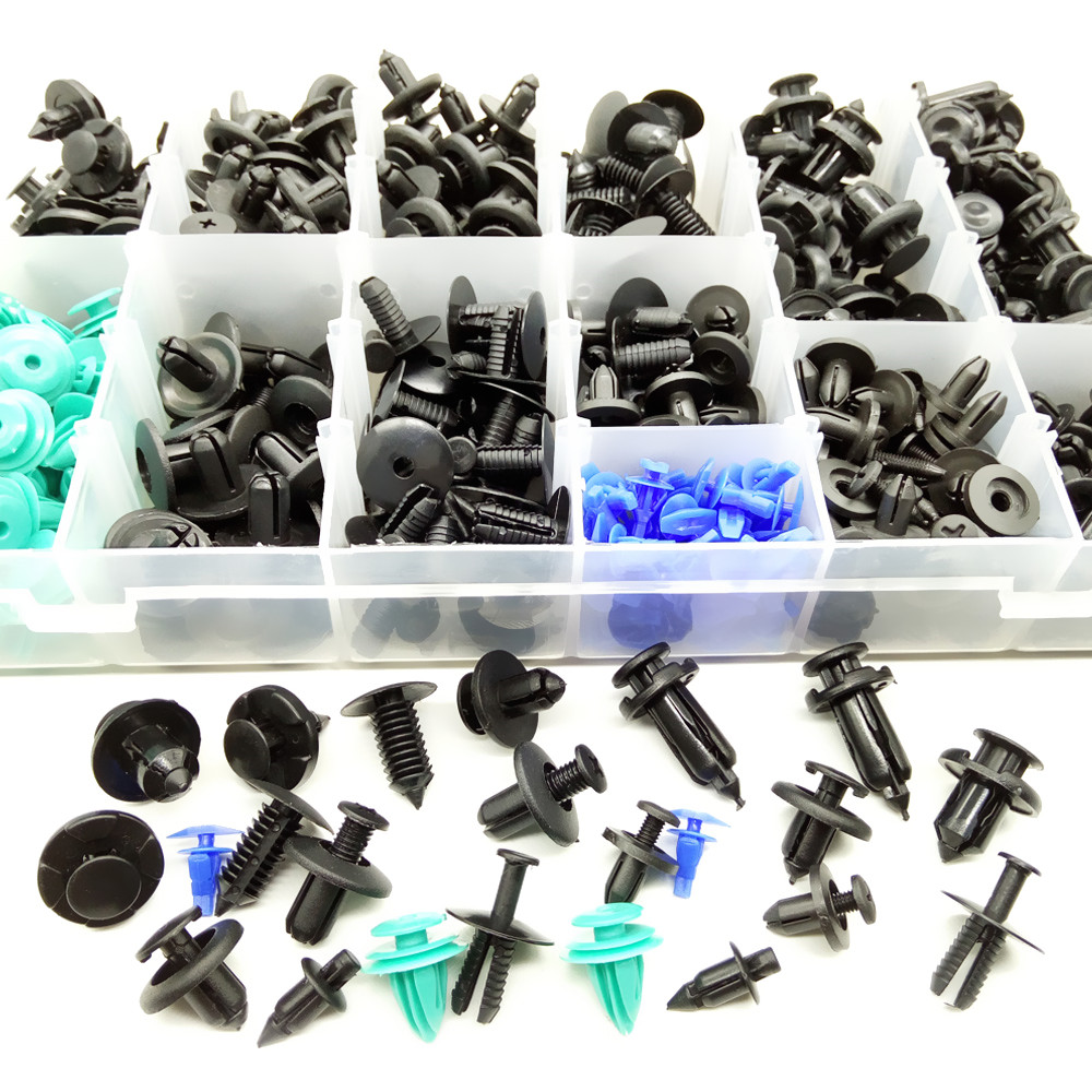 CNIKESIN 6-10mm voor Alle Auto Gemengde Auto Fastener Clip Plastic - Auto-interieur accessoires - Foto 3