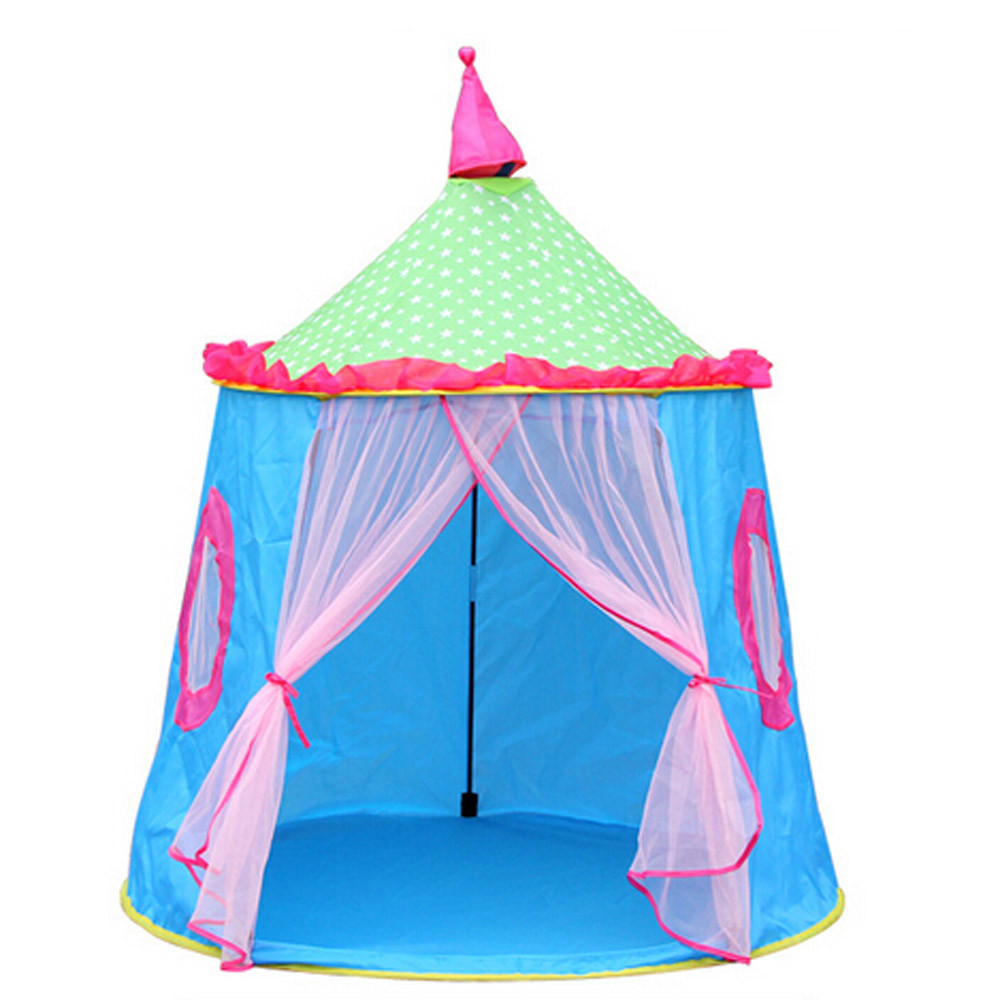 1X Castle Childrenu0027s Tent House of Games For Kids Funny Portable Tent Baby Playing  sc 1 st  AliExpress.com & Hot Sale Summer Mosquito Net Castle Children Tent House of Games ...