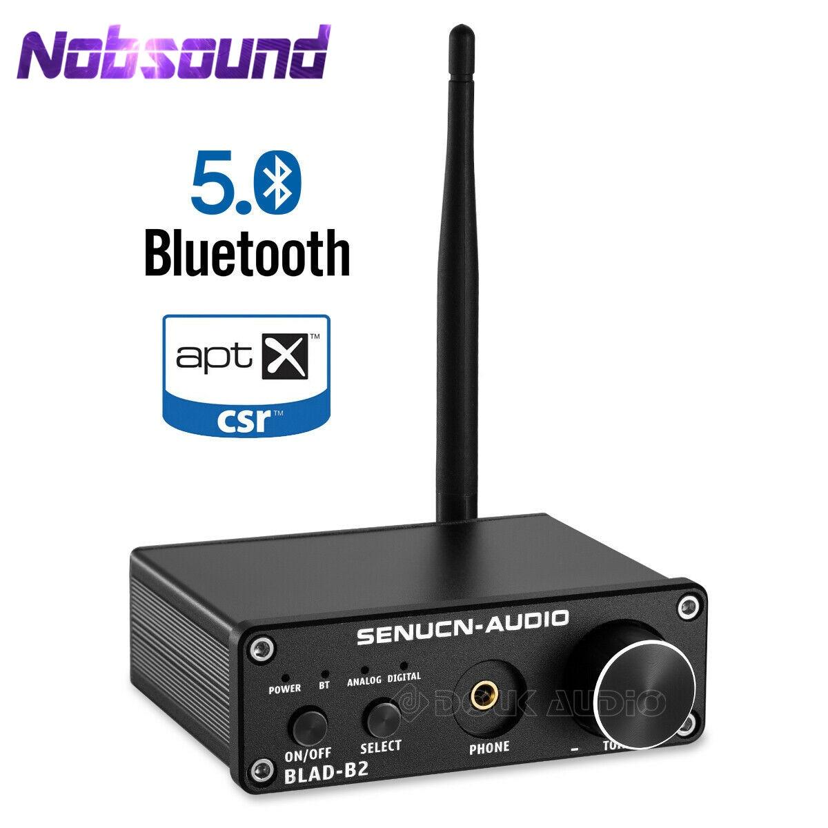 HiFi Bluetooth 5.0 Audio Decoder Mini Stereo Headphone Amplifier DAC Coaxial/Optical Black/SilverHiFi Bluetooth 5.0 Audio Decoder Mini Stereo Headphone Amplifier DAC Coaxial/Optical Black/Silver