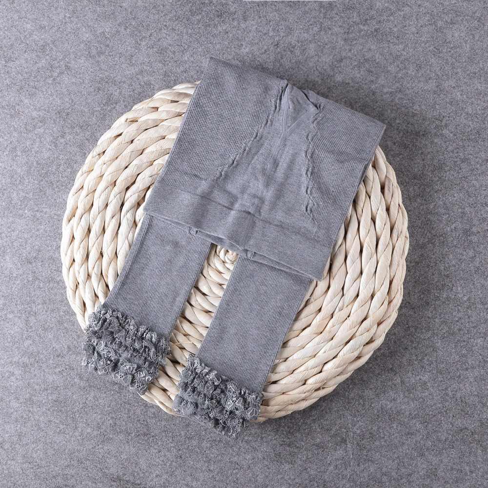 กางเกงขายาวผู้หญิงฤดูหนาวที่อบอุ่นกางเกงสำหรับสาว Leggin ผ้าฝ้ายปักเด็กกางเกงฤดูใบไม้ร่วงฤดูใบไม้ผลิเด็กกางเกงดินสอ