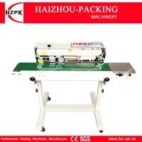 HZPK אוטומטי אנכי ברזל עם תרסיס סוג אוטם רציף פלסטיק סרט איטום מכונה עם מסוע עבור מזון תה תיק FR770 machine sealed bags food sealing machinemachine bag -