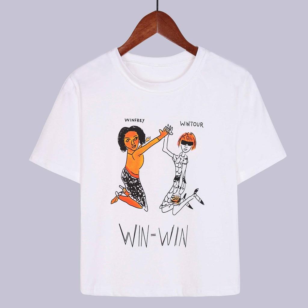 Women Casual Planet Printed Short Sleeve Top Blouse Tops Shirt Women Tshirts Summer Casual Harajuku T Shirt Femme Top