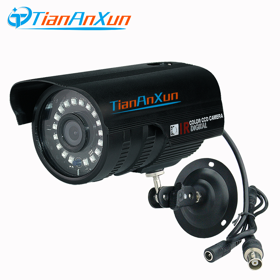 TIANANXUN 1080P AHD Analog Surveillance Security Camera Indoor Outdoor Waterproof Night Vision Metal Bullet Camera High CCTV