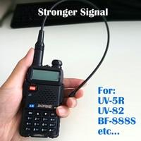 vhf uhf Baofeng NA771 אנטנת הרווח NA771 מכשיר קשר אנטנת SMA-F 39cm UHF VHF איתותים רחבות מגבר עבור UV-5R BF-888S UV-82 (3)