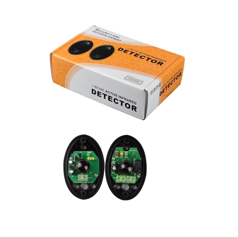 Waterproof 15 Meters Sensor Beam For Door And Gate Opener/door And Gate Safety Sensors/infared Photocell For Garage Opener Door