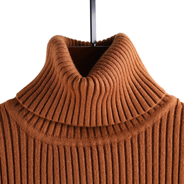 2018 Winter Clothing Turtleneck Women Sweater Autumn Jumper Plus Size Jersey Pull Female Pullover Lady Coat Cashmere Knitted 4