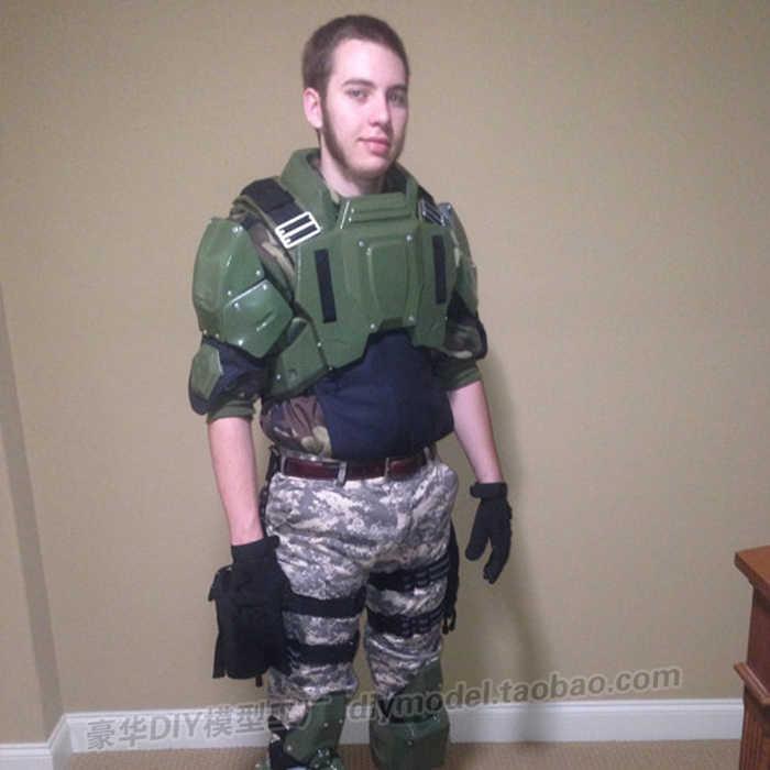 3 الجندي درع شحن لقطة 1:1 لبس مخصصة سميكة إيفا الراتنج نموذج