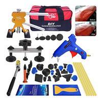 39PCs PDR Dent Puller Repair Tools Kit Car Dent Bridge Puller Set Repair Car Dent For Auto Repair Tool Removing Dents Repair