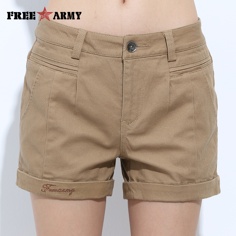 Womens   Shorts   Summer Fashion Casual Cotton 4 Solid Colors   Short   Pants Brand Clothing Black Sexy Hot Woman   Shorts   Dropshipping