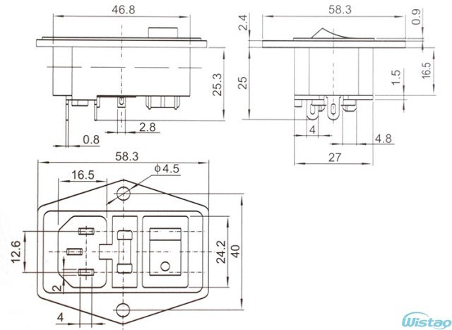 aucharm with switch(3l)