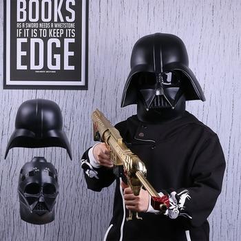 цена на Star Wars  Force Awakens Helmet Darth Vader PVC Action Figure Model Collection Detachable Mask Halloween Party Ues