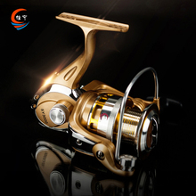 1000-9000 Metal Spinning Fishing Reel 13+1BB High Speed 5.2:1 Reel Fishing Super Hard Metal Left/Right Handle Fishing Reel