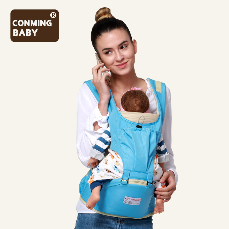 New 0-36 Months 20kg Ergonomic Baby Carrier Waist Stool With Hipseat Backpack Kangaroo Baby Sling Hold Waist Belt Wrap Hip Seat