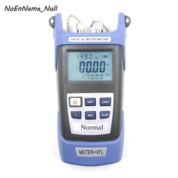 Portable Fiber Optical Power Meter Visual Fault Locator 15mW FTTH Tool Kit 15KM Red Laser Cable Tester Pen with VFL Light Source