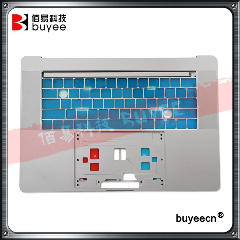 Original New A1707 Grey Housing with US layout Version 2016 Year 15 Inch For MacBook Pro 15 A1707 Top Cover Case Working Tested original new laptop a1708 palm rest repair for macbook retina pro top housing case cover us layout 13 inch 2016 year replacement