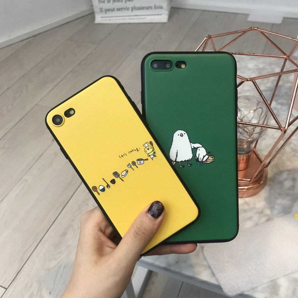 MA Cartoon Chicken Phone Case Cover For Huawei P8 lite 2017 P9 P10 P20Lite Plus Nova Honor 6C 6A 6X Honor8 Honor9 Mate10lite