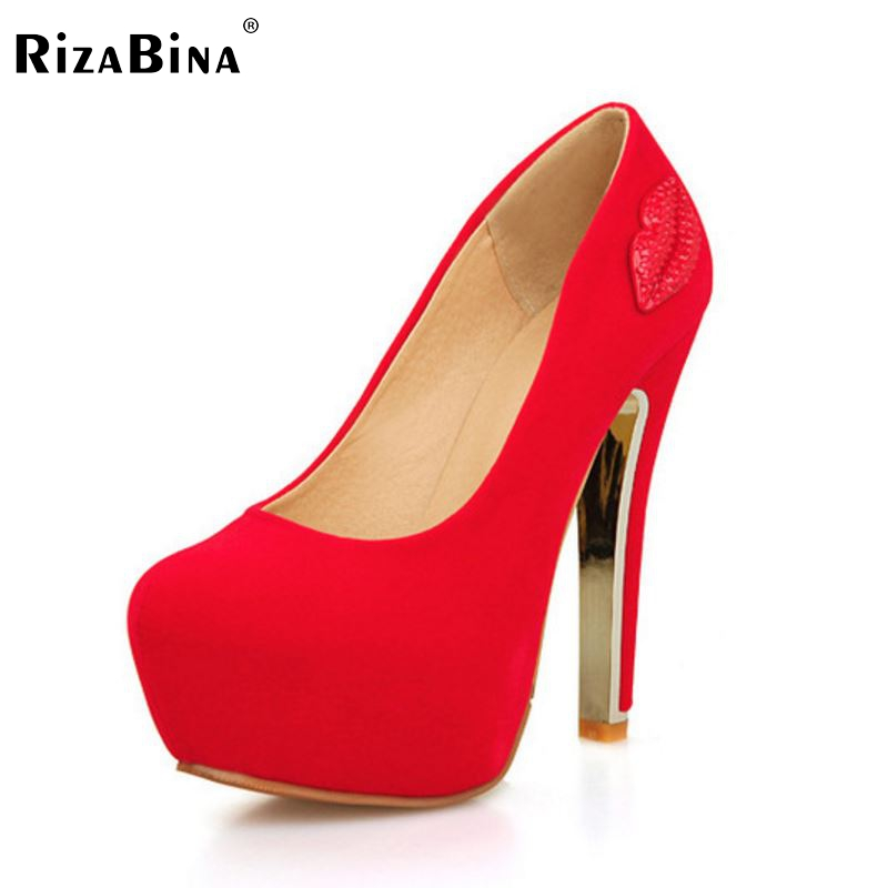 ФОТО women high heel shoes platform suede new vintage footwear sexy brand spring fashion heeled pumps heels shoes size 33-40 P17076