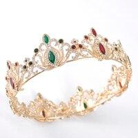 Wedding Crown Queen Bridal Tiaras Bride Jewelry Headband Wedding Accessories Diadem Luxury Hair Ornaments