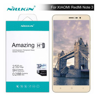 Redmi Note 3 Screen Protector Nillkin Amazing H H PRO Tempered Glass For Xiaomi Redmi Note