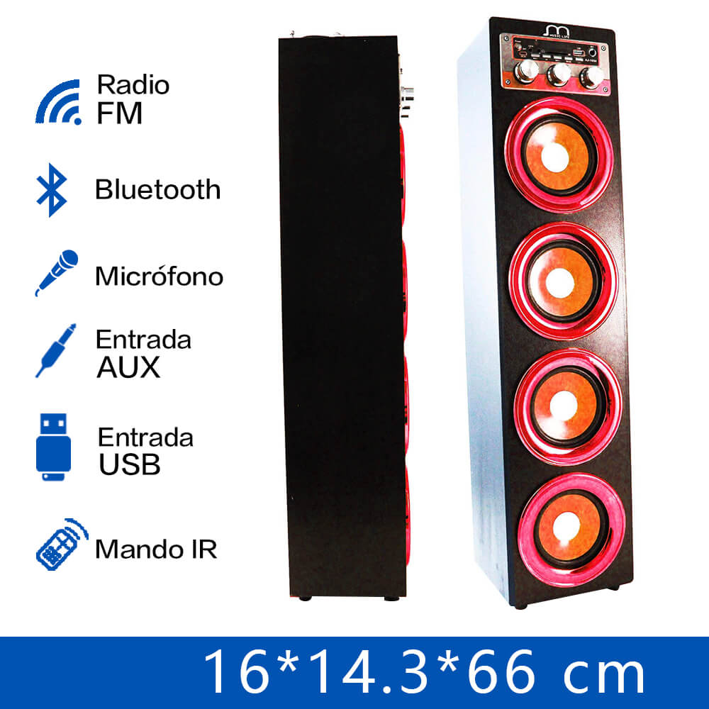 Bluetooth Speaker Karaoke Handsfree with Microphone FM Radio MP3 Portable Speaker Tower High Power аврора подвесная люстра аврора каравелла 10005 5l