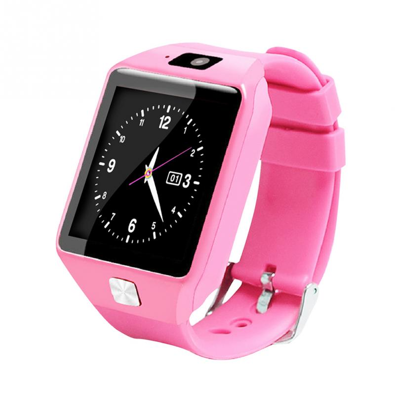 U9 Children Smart Locator Watch SIM Card Anti-lost Wristwatch for Kids Baby Security Tracking Wristwatch(pink)