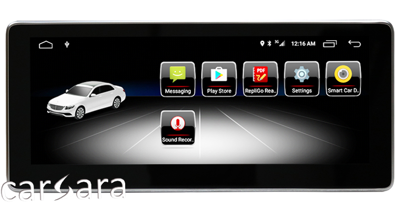 2G-RAM-10-25-Android-Navigation-display-for-Mercedes-CLS-Class-W218-2012-2013-touch-screen4