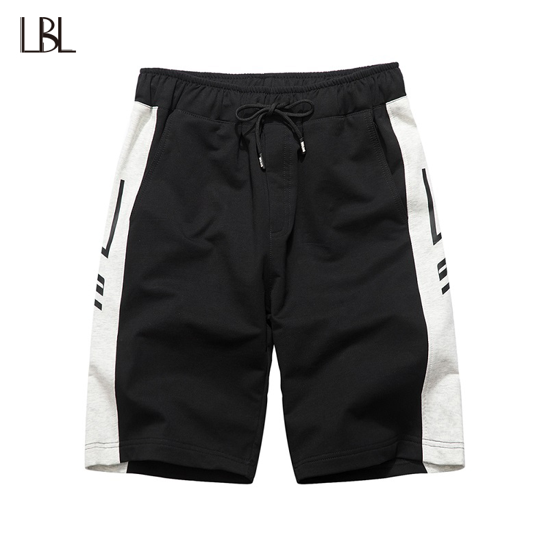 Casual Summer Mens Shorts Brand Clothing Boardshorts Comfortable Joggers Clothes Knee Length Trousers Loose Males Big Short XXL