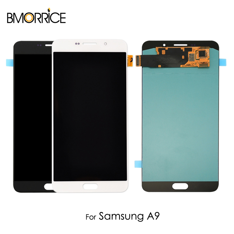 AMOLED For Samsung Galaxy A9 2015 A9000 SM-A900F A900 LCD Display OLED Touch Screen Digitizer Assembly Replacement Black 6.0AMOLED For Samsung Galaxy A9 2015 A9000 SM-A900F A900 LCD Display OLED Touch Screen Digitizer Assembly Replacement Black 6.0