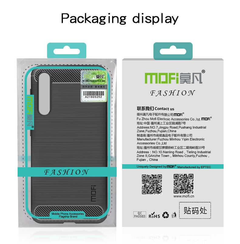 MOFi для Asus Zenfone 4 Max ZC520KL чехол противоударный углеродного волокна Мягкие TPU анти-Knock Обложка Чехлы для Asus ZC520KL Капа Coque