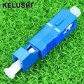 KELUSHI Alta Qualidade Hybird Adaptador SM (SC/UPC Masculino-LC/UPC Feminino) transporte rápido
