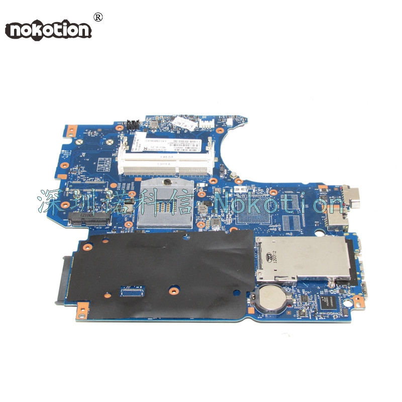 NOKOTION 646246-001 laptop motherboard for HP pavilion 4530s 4730S Main board HM55 DDR3 Main system board works nokotion 645386 001 laptop motherboard for hp dv7 6000 notebook pc system board main board ddr3 socket fs1 with gpu