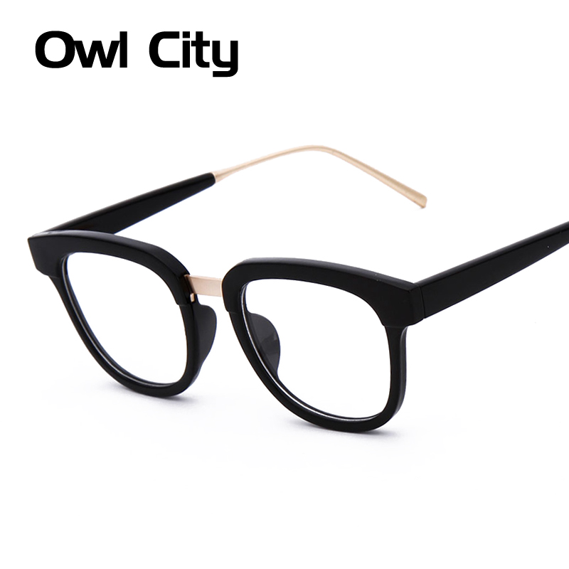 Vintage Computer Optical Eyeglasses Glasses Frame High Quality UV Protection Marbling frame Glasses